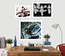 AJ WALLPAPER 3D Attack On Titan Team 3058 Anime Combine - Papel pintado para pared, diseño de Angelia, Vinilo resistente (autoadhesivo)., X Large
