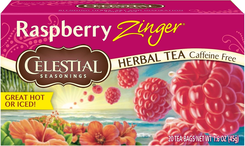 Celestial Seasonings Raspberry Zinger Tea Topics Ranking TOP9 on TV 20 ct