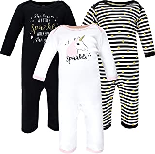 Hudson Baby Kombinezon dziecięcy Uniseks - niemowlęta Hudson Baby Unisex Baby Cotton Coveralls, Sparkle Unicorn