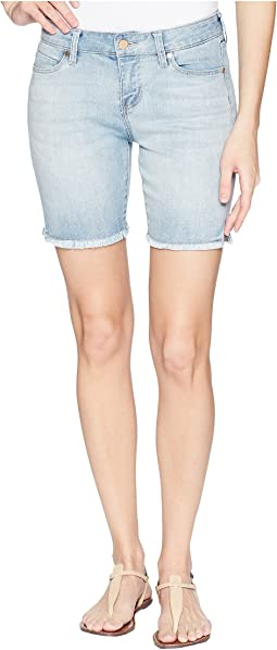 Corine Shorts Fray Hem w/ Slit in Mandalay Light
