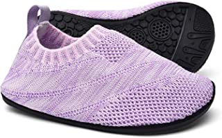 Sosenfer Pantofole da Casa Ragazzi Ragazze Scarpe Interne a Maglia Antiscivolo per Bambini Slipper Kids Unisex
