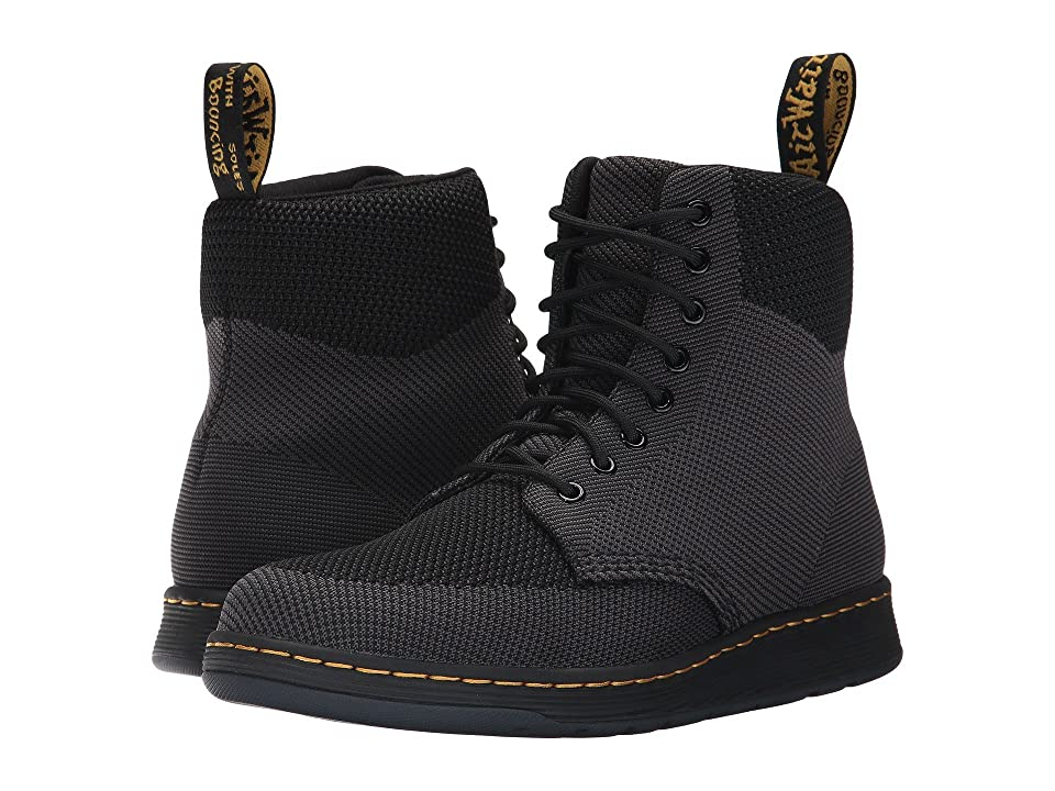 Dr. Martens Knit Rigal Boot (Black/Anthracite Knit Textile) Boots