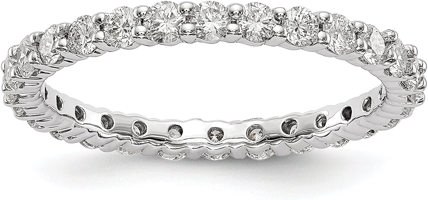 KIOKORI Diamond Eternity Band 1-Carat in S 14K - Some reservation White Gold Ring New Free Shipping
