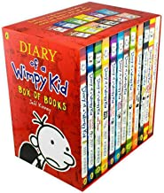 Diary of a Wimpy Kid Box Set Collection - 12 Books NEW By Jeff Kinney Paperback – 2016