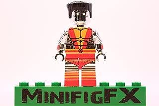 Lego Custom Printed Colossus Chrome Plated Minifig Marvel X-Men Mutant