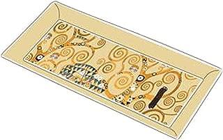 Goebel 66500141 - Gustavo Klimt Artis Orbis AO P SC Lebensbaum, Color Beige