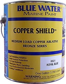 Blue Water Marine Paint Copper Shield