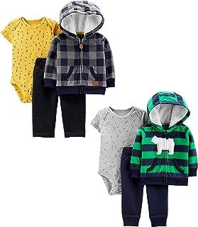 Baby Boys 2-Pack 3-Piece Cardigan Set
