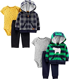 Carter's Baby Boys 2-Pack 3-Piece Cardigan Set