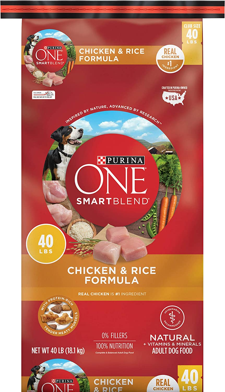 Purina ONE SmartBlend Chicken & Rice Adult Formula
