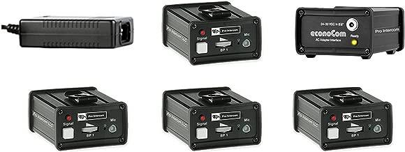 Pro Intercom EC4, econoCom 4 Beltpack System