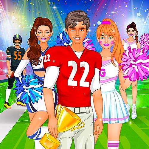 Hochschule Mädchen und Jungs Anziehen Spiele