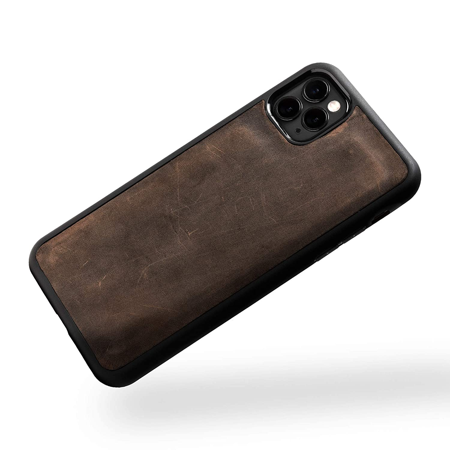 PEGAI Max 79% OFF Leatherback iPhone Opening large release sale Case Brown 8 PARION Chestnut