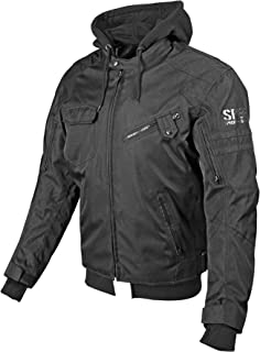Speed and Strength Off the Chain 2.0 Men's Textile Jacket (Stealth, Large)