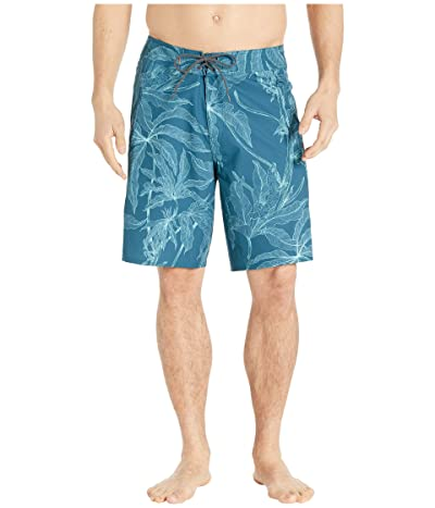 Quiksilver Waterman Paddler Prints Boardshorts 20 (Delphinium Blue) Men