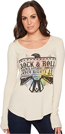 Rock and Roll Cowgirl - Long Sleeve Tee 48T4390