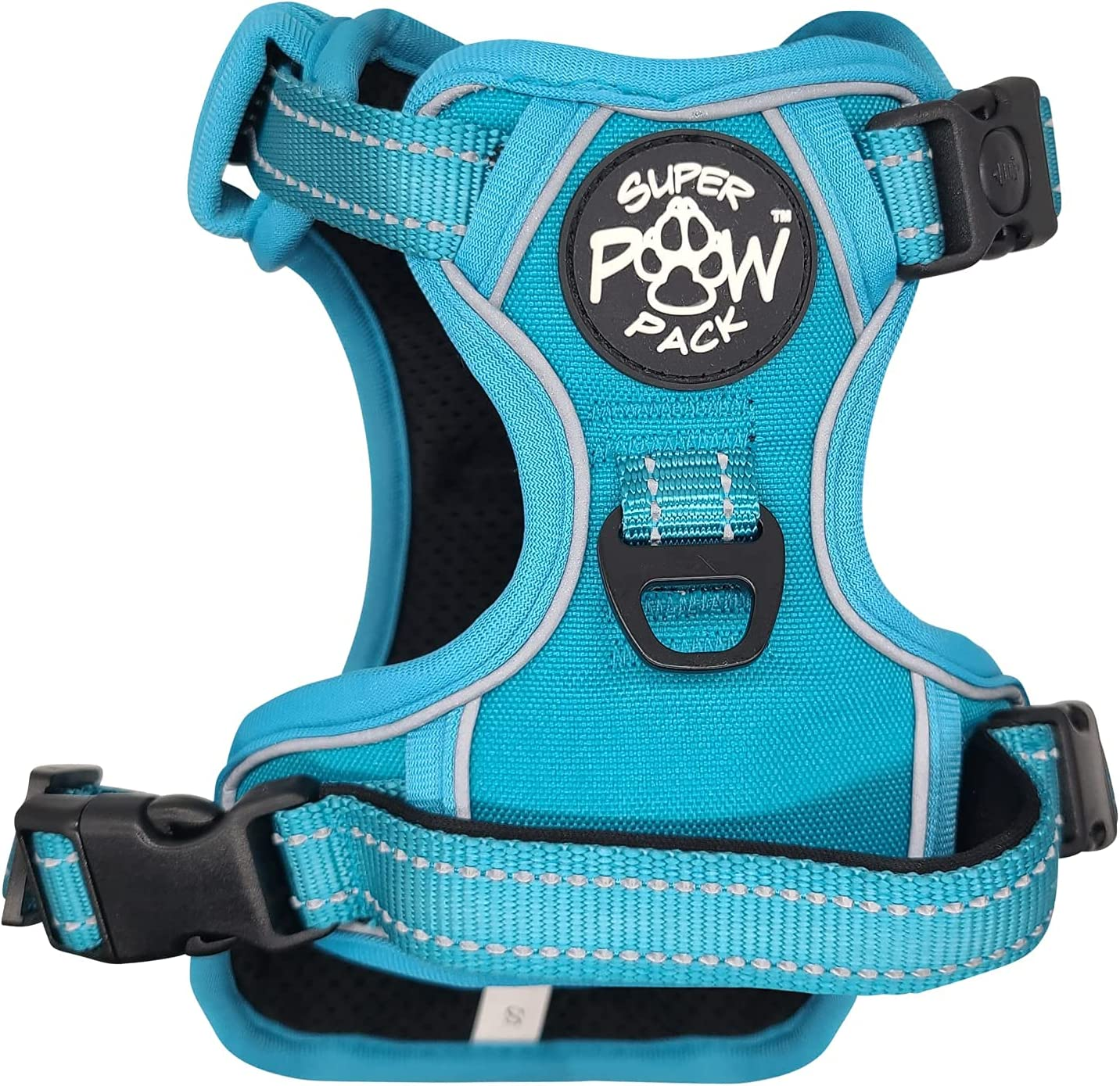 Super Paw Pack Adventure Series Dog Harness In a popularity Bahama Blue XXL Brand new