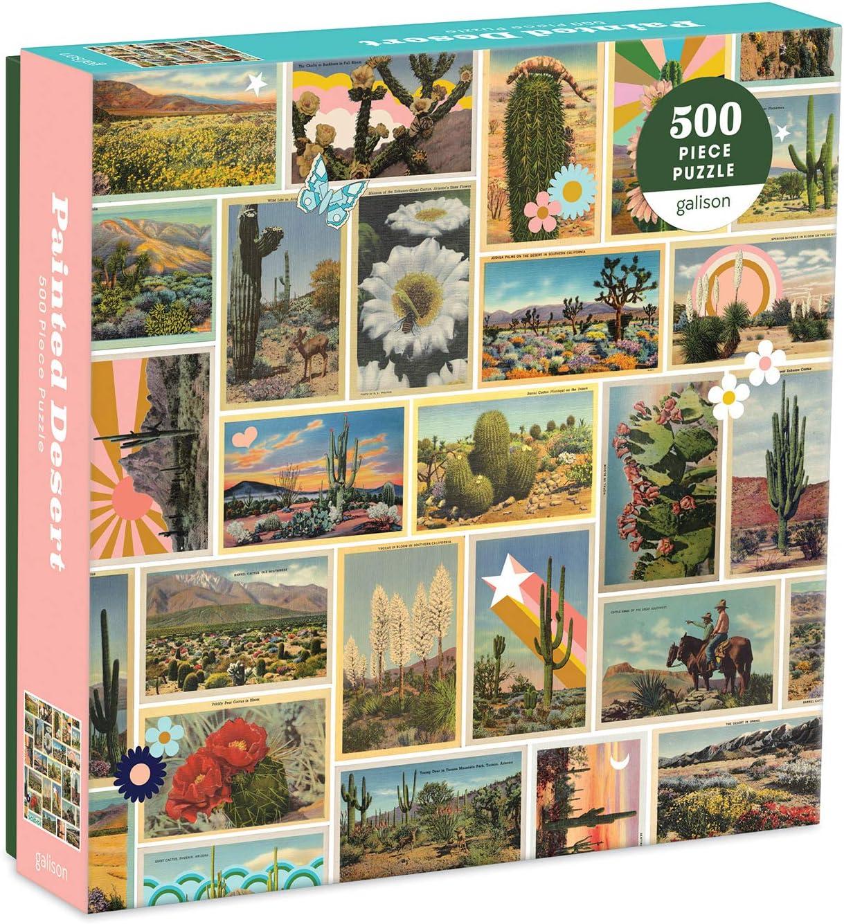 "Galison Painted Desert Puzzle 500 Large-scale sale Some reservation 20"" Pieces x Ã"