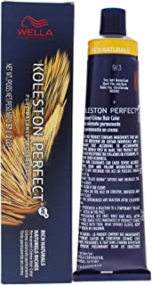 Wella Koleston Perfect Permanent Creme Haircolor - 9 3 Very Light Blonde Natural By Wella For Unisex - 2 Oz Hair Color