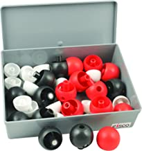 Magnetic Atoms Molecular Model Set (Carbon, Methane, Butane) - Eisco Labs