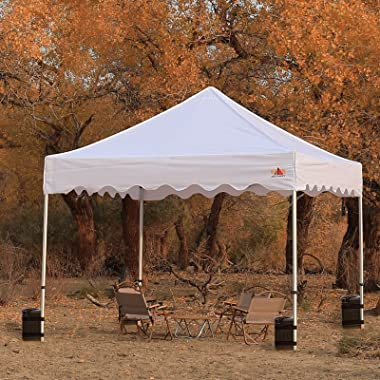 ABCCANOPY Universal Canopy Weights Upgraded Water Weights for Pop up Canopies Instant Tents (4 Pcs, Black)
