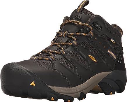 KEEN Utility Men's Lansing Mid Waterproof Industrial and Construction Shoe