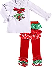 Angeline Boutique Clothing Girls Christmas Pernickety Outfit Sets
