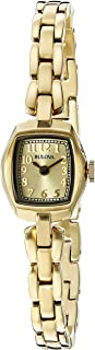 Bulova Women's 97L155 Analog Display Quartz Gold Watch