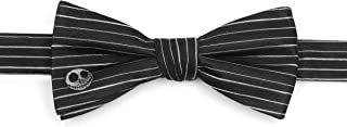 Disney Nightmare Before Christmas Stripe Men's Bow Tie, Officially Licensed
