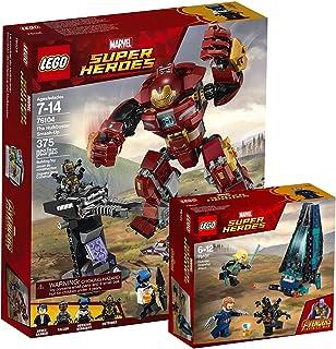 Lego Marvel Super Heroes 76104–Destrucción del Hulkbuster