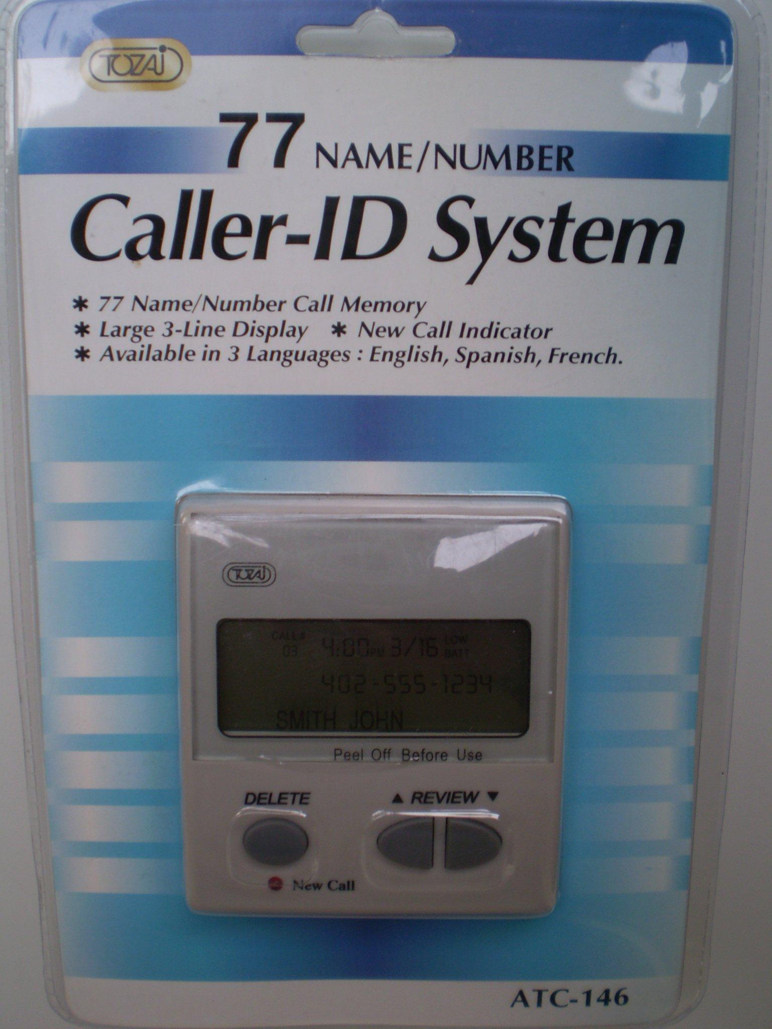 77 Name Number Caller System