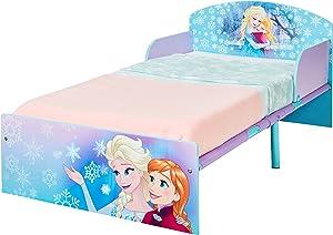 Disney Frozen Eiskönigin Bett für Kleinkinder von Worlds Apart, Holz, violett, 143 x 77 x 42.5 cm