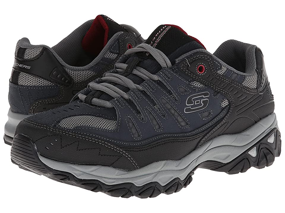 SKECHERS Afterburn M. Fit (Navy) Men