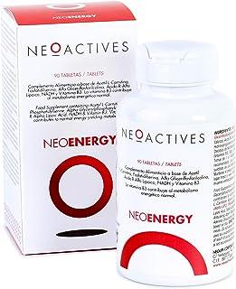 NeoEnergy | Suplemento con Acetil L-Carnitina. Fosfatidilserina. Alfa Glicerilfosforilcolina. Ácido R-Alfa Lipoico. NADH y Vitamina B3 | Ayuda a disminuir el cansancio y fatiga (90)