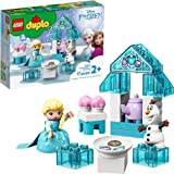 LEGO DUPLO Disney Frozen Toy Featuring Elsa and Olaf's Tea Party 10920 Disney Frozen Gift for Kids and Toddlers
