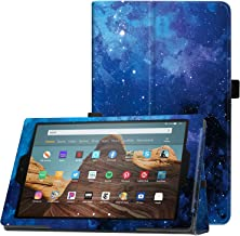 """Famavala Folio Case Cover Compatible with 10.1"""" Amazon Fire HD 10 Tablet (9th / 7th / 5th Generation, 2019/2017 /2015 Rele..."""