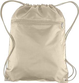 1c541f444c33 Amazon.com  Beige - Drawstring Bags   Gym Bags  Clothing
