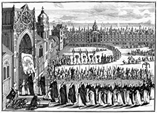 Spanish Inquisition Goa Na Procession Of Those Condemned By The Inquisition In Goa India The Grand Inquisitor Is Midway In...
