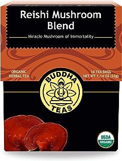 Buddha Teas Organic Reishi Mushroom Blend Tea 18 Bags