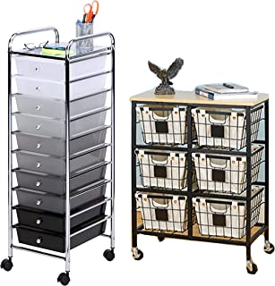 Best easy home rolling storage cart Reviews