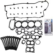 Head Gasket Set Bolt Kit Fits: 95-99 Nissan 200SX Sentra 1.6L DOHC 16v GA16DE