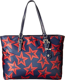 Tommy Hilfiger - Julia Star Nylon Tote Large Dome Backpack
