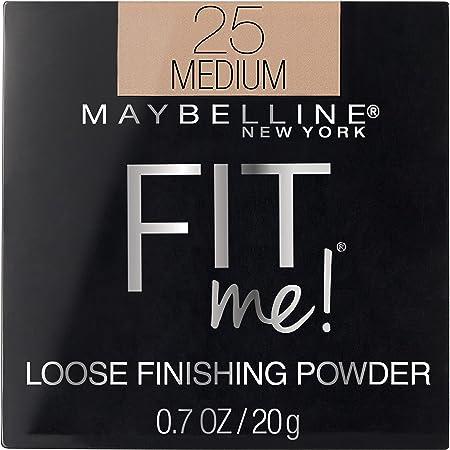 Maybelline New York Fit Me Loose Finishing Powder, Medium, 0.7 oz.