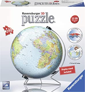 Ravensburger The Earth 540 Piece 3D Jigsaw Puzzle for Kids and Adults – Easy Click..