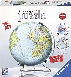 Ravensburger - Puzzle 3D Globo, 540 piezas (12436)