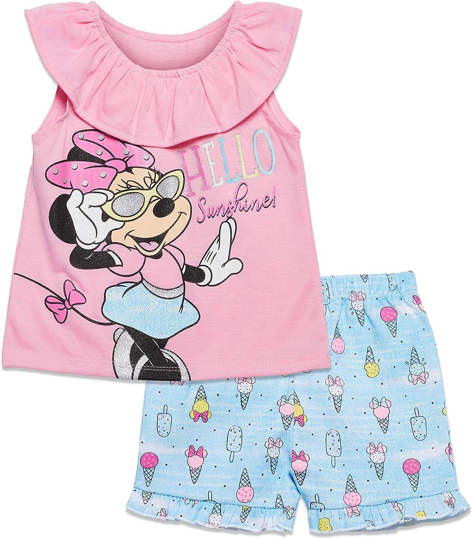 Disney Minnie Mouse Graphic T-Shirt  Shorts Set