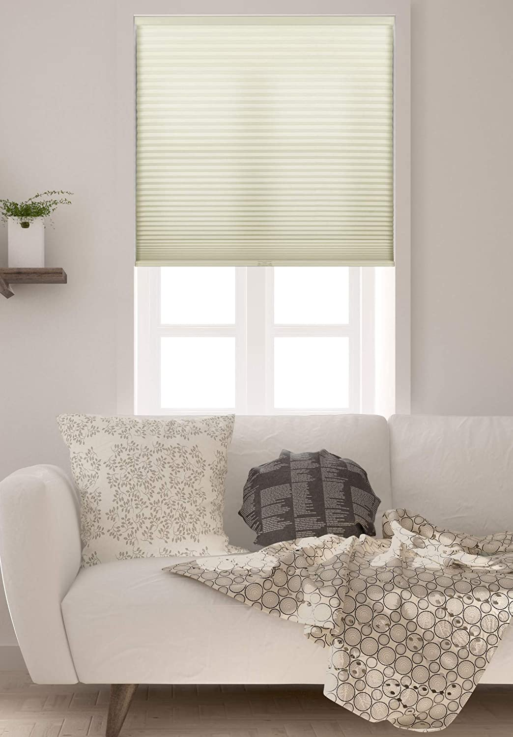 Arlo Blinds Single Sales for sale Cell Light Max 57% OFF Cellular Filtering Shades Cordless
