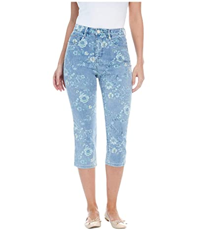 FDJ French Dressing Jeans Printed Denim Suzanne Capris in Denim (Denim) Women