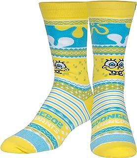 Cool Socks, Mens, Ugly Sweater Sock, Cartoons, Crew Socks, Holiday Novelty Cute