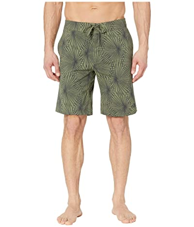 The North Face Temescal 11 Boardshorts (Four Leaf Clover Yucca Print) Men